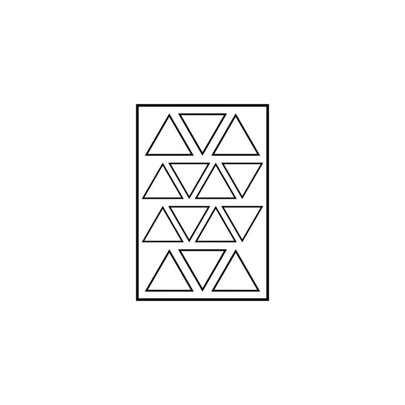 Figuurtjes | open driehoekjes