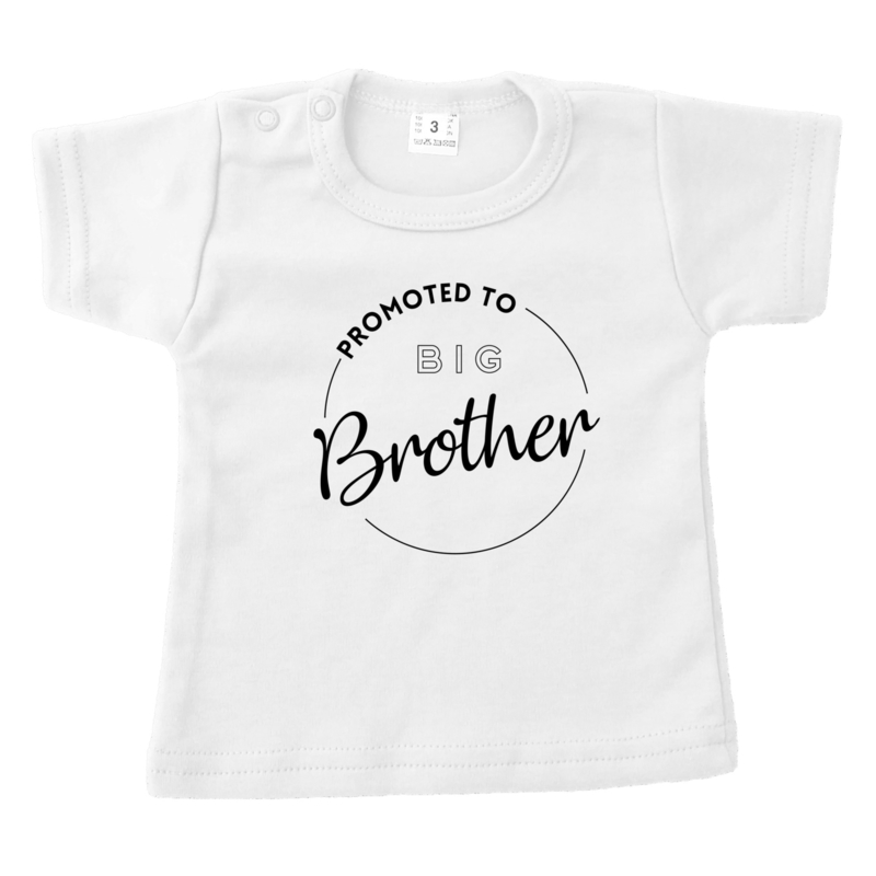 Promoted to big brother | shirt