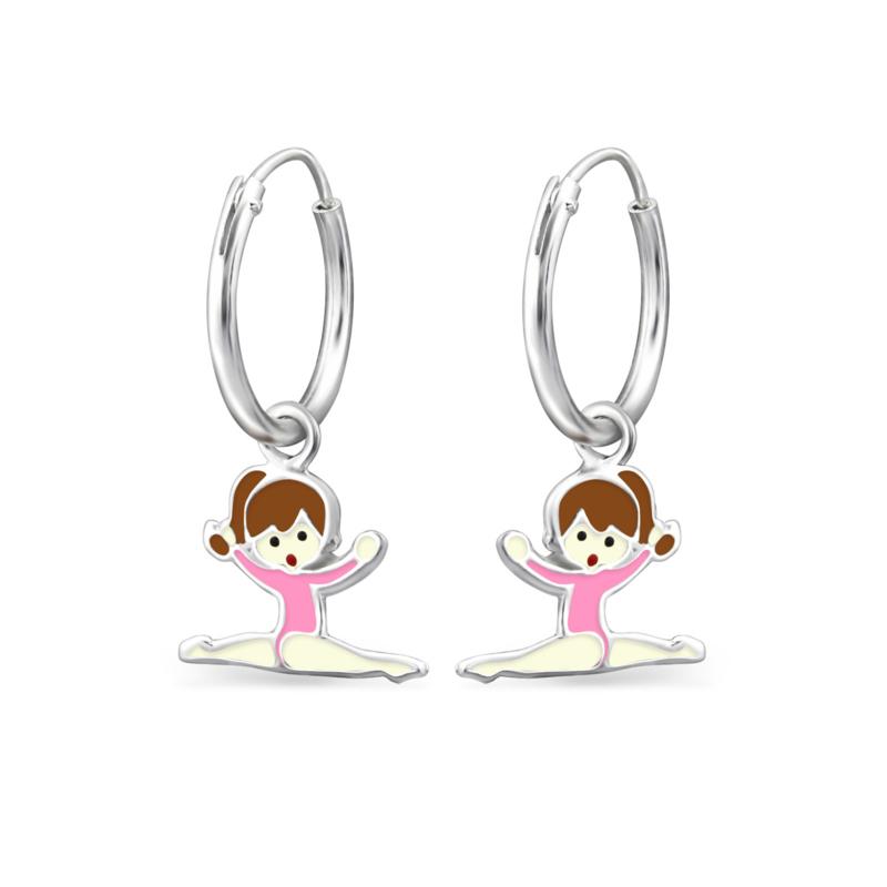 Ballerina's | oorringetjes
