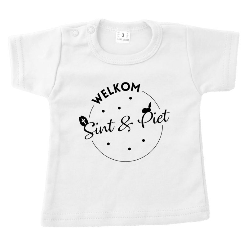 Shirt | Welkom Sint & Piet - stippen