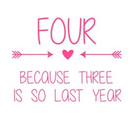 age because ... is so last year! strijkapplicatie
