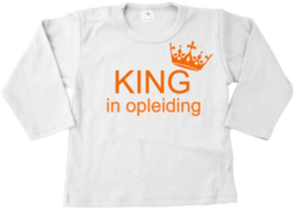 King in opleiding
