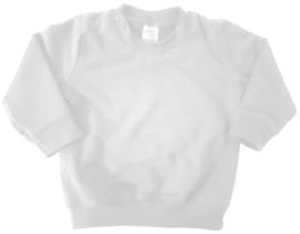 witte sweater bedrukt naar wens