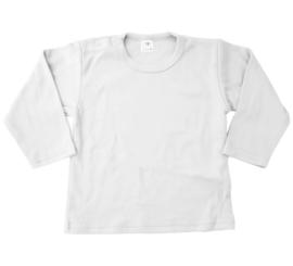 Effen t-shirt, longsleeve of sweater