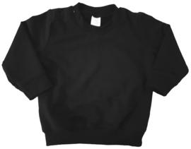 zwarte sweater bedrukt naar wens