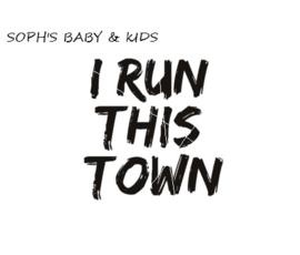 I run this town strijkapplicatie