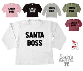 Santa Boss shirt