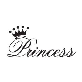 Princess strijkapplicatie