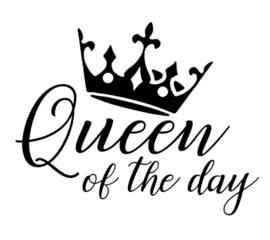 Queen of the day strijkapplicatie