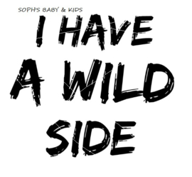 I have a wild side Strijkapplicatie