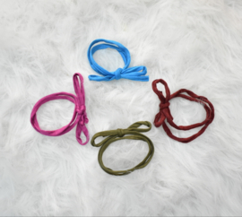 Mix 4 haarbandjes kleur