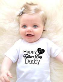 1st Fathersday t-shirt
