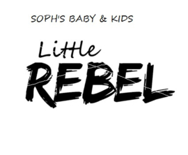 Little rebel strijkapplicatie