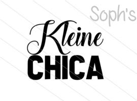 Kleine Chica Strijkapplicatie