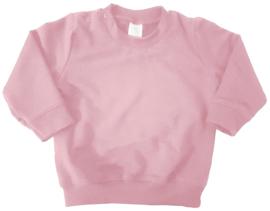 licht roze sweater bedrukt naar wens