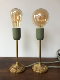 Set brocante lampjes