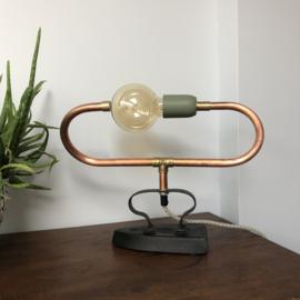 Ovaal gebogen lampje