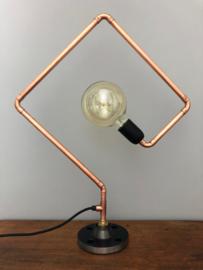 Strakke vierkante lamp