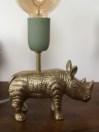 Neushoorn lamp