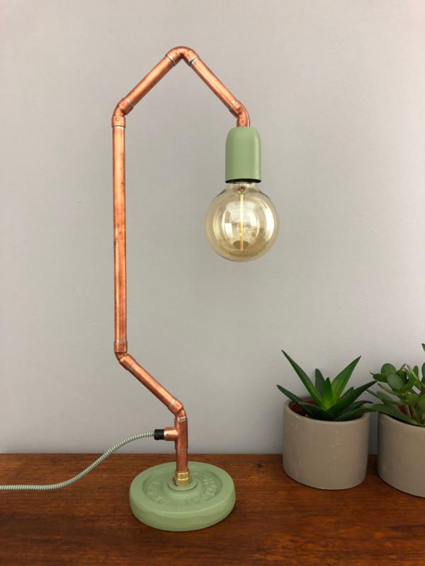 Vintage look lamp