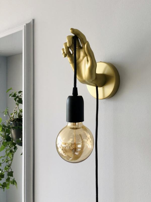 Wand-(hand) lamp Goud