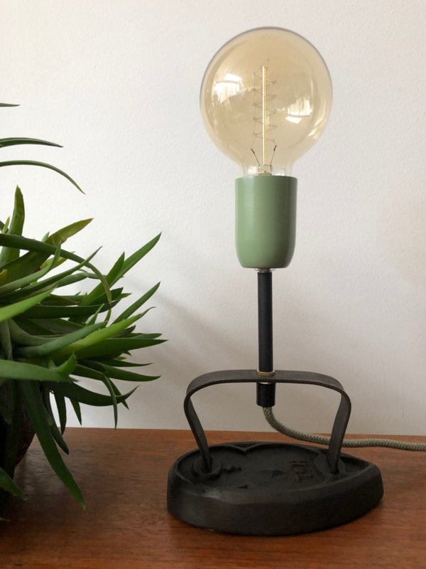 Stoer vintage lampje