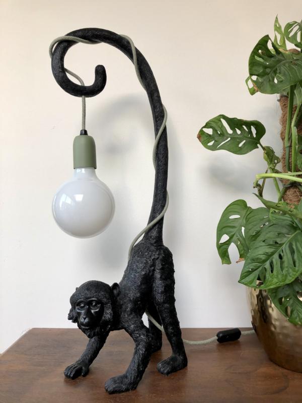 Aap lamp met staart