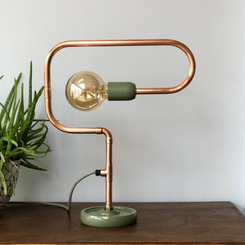 Tafellamp ronde vormen