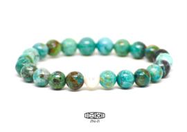 Kralenarmband Pearl #turquoise