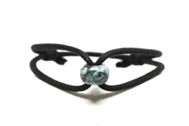 Armband Cord & Stone #africanturquoise