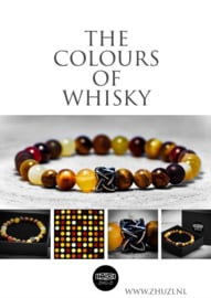 "Kralenarmband ""The Colours of Whisky"""