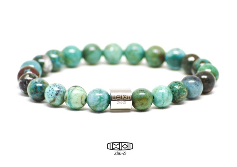 Kralenarmband ByYou(x) #natural #turquoise