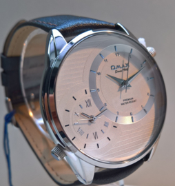 Collection Dual Time white silver (silver dial)