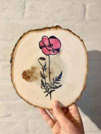 Pannenonderlegger bloem