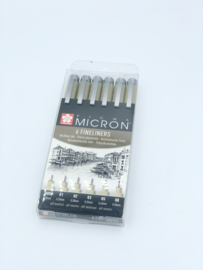 Pigma Micron fineliners