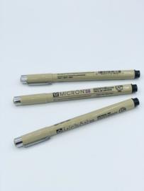 Pigma micron fineliner 08
