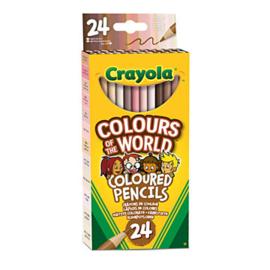 Crayola Colors of the World kleurpotloden