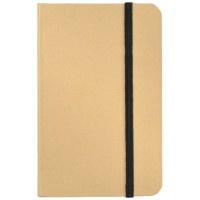 Blanco notitieboekje met rek