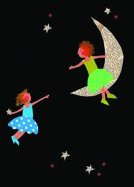 Meisjes op de maan