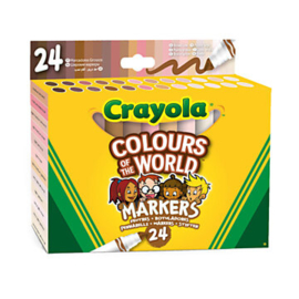 Crayola Colors of the World stiften