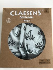 Claesens boxers (2x) voor jongen van 2 / 3 jaar met maat 92 / 98