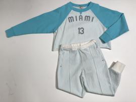 Bandy Button cropped trui voor meisje van 4 / 5 jaar met maat 104 / 110