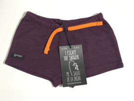 Yporque korte joggingbroek voor jongen of meisje van 4 jaar met maat 104
