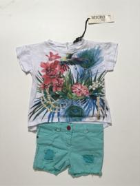 So Twee by Miss Grant kort broekje voor meisje van 6 maanden met maat 68