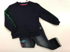 Le Big trui voor meisje van 18 / 24 maanden met maat 86 / 92