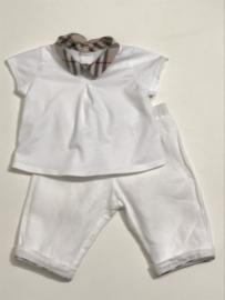 Burberry top / t-shirt voor meisje van 6 maanden met maat 68