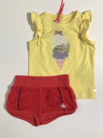Lili Gaufrette t-shirt voor meisje van 12 maanden met maat 80
