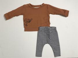 Boefjes & Bijtjes broekje voor jongen of meisje van 9 maanden met maat 74
