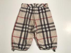 Burberry korte broek voor jongen of meisje  van 4 jaar met maat 104