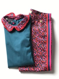 Le Big broek voor meisje van 11 / 12 jaar met maat 146 / 152